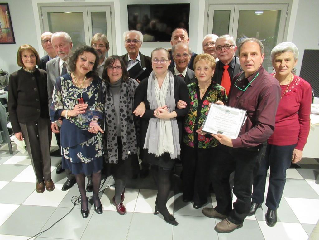foto giuria e vincitori